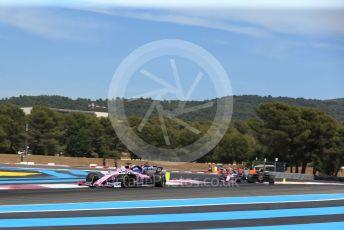 World © Octane Photographic Ltd. Formula 1 – French GP. Race. SportPesa Racing Point RP19 - Sergio Perez. Paul Ricard Circuit, La Castellet, France. Sunday 23rd June 2019.