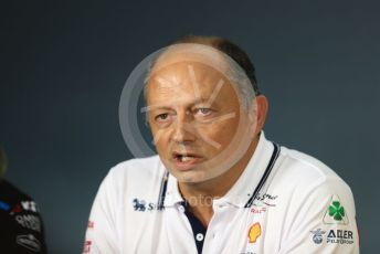 World © Octane Photographic Ltd. Formula 1 - French GP – Friday FIA Team Press Conference. Frederic Vasseur – Team Principal and CEO of Sauber Motorsport AG. Paul Ricard Circuit, La Castellet, France. Friday 21st June 2019.