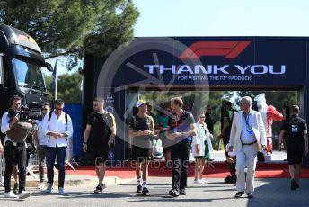 World © Octane Photographic Ltd. Formula 1 – French GP. Paddock. Renault Sport F1 Team RS19 – Daniel Ricciardo. Paul Ricard Circuit, La Castellet, France. Saturday 22nd June 2019.