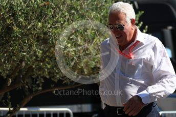World © Octane Photographic Ltd. Formula 1 - French GP. Paddock. Lance Stroll father Lawrence Stroll - investor, part-owner of SportPesa Racing Point. Paul Ricard Circuit, La Castellet, France. Friday 21st June 2019.