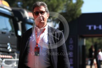 World © Octane Photographic Ltd. Formula 1 - French GP. Paddock. Louis Camilleri - CEO of Ferrari and former Chairman of Philip Morris International. Paul Ricard Circuit, La Castellet, France. Friday 21st June 2019.
