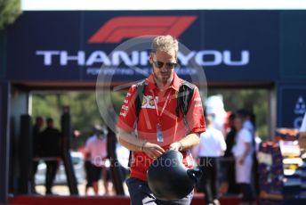 World © Octane Photographic Ltd. Formula 1 – French GP. Paddock. Scuderia Ferrari SF90 – Sebastian Vettel. Paul Ricard Circuit, La Castellet, France. Saturday 22nd June 2019.