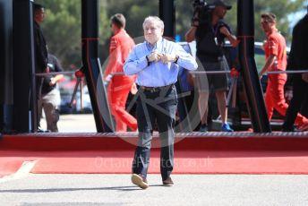 World © Octane Photographic Ltd. Formula 1 - French GP. Paddock. Jean Todt – President of FIA. Paul Ricard Circuit, La Castellet, France. Sunday 23rd June 2019.