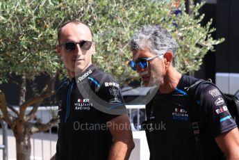 World © Octane Photographic Ltd. Formula 1 – French GP. Paddock. ROKiT Williams Racing FW42 – Robert Kubica. Paul Ricard Circuit, La Castellet, France. Thursday 20th June 2019.