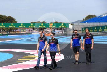World © Octane Photographic Ltd. Formula 1 – French GP. Track Walk. Scuderia Toro Rosso STR14 – Daniil Kvyat. Paul Ricard Circuit, La Castellet, France. Thursday 20th June 2019.
