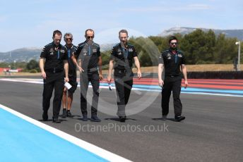 World © Octane Photographic Ltd. Formula 1 – French GP. Track walk. ROKiT Williams Racing FW42 – Robert Kubica. Paul Ricard Circuit, La Castellet, France. Thursday 20th June 2019.