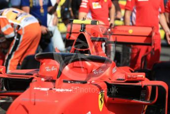 World © Octane Photographic Ltd. Formula 1 – French GP. Pit Lane. Scuderia Ferrari SF90. Paul Ricard Circuit, La Castellet, France. Thursday 20th June 2019.