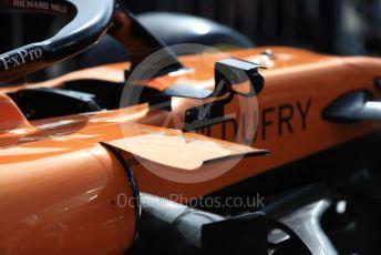 World © Octane Photographic Ltd. Formula 1 – French GP. Pit Lane. McLaren MCL34. Paul Ricard Circuit, La Castellet, France. Thursday 20th June 2019.