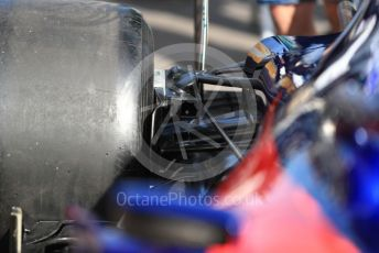 World © Octane Photographic Ltd. Formula 1 – French GP. Pit Lane. Scuderia Toro Rosso STR14. Paul Ricard Circuit, La Castellet, France. Thursday 20th June 2019.