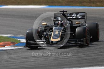 World © Octane Photographic Ltd. Formula 1 – German GP - Qualifying. Rich Energy Haas F1 Team VF19 – Romain Grosjean. Hockenheimring, Hockenheim, Germany. Saturday 27th July 2019.