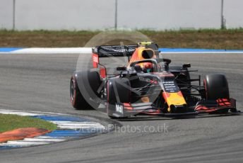 World © Octane Photographic Ltd. Formula 1 – German GP - Qualifying. Aston Martin Red Bull Racing RB15 – Pierre Gasly. Hockenheimring, Hockenheim, Germany. Saturday 27th July 2019.