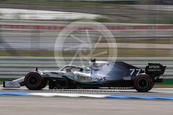 World © Octane Photographic Ltd. Formula 1 – German GP - Qualifying. Mercedes AMG Petronas Motorsport AMG F1 W10 EQ Power+ - Valtteri Bottas. Hockenheimring, Hockenheim, Germany. Saturday 27th July 2019.