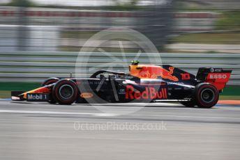 World © Octane Photographic Ltd. Formula 1 – German GP - Qualifying. Aston Martin Red Bull Racing RB15 – Pierre Gasly. Hockenheimring, Hockenheim, Germany. Saturday 27th July 2019.