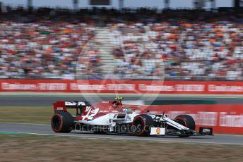 World © Octane Photographic Ltd. Formula 1 – German GP - Qualifying. Alfa Romeo Racing C38 – Antonio Giovinazzi. Hockenheimring, Hockenheim, Germany. Saturday 27th July 2019.
