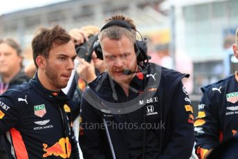 World © Octane Photographic Ltd. Formula 1 – German GP - Grid. Aston Martin Red Bull Racing RB15 – Pierre Gasly. Hockenheimring, Hockenheim, Germany. Sunday 28th July 2019.