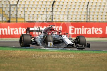 World © Octane Photographic Ltd. Formula 1 – German GP - Practice 1. Alfa Romeo Racing C38 – Kimi Raikkonen. Hockenheimring, Hockenheim, Germany. Friday 26th July 2019.
