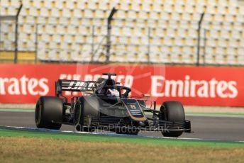 World © Octane Photographic Ltd. Formula 1 – German GP - Practice 1. Rich Energy Haas F1 Team VF19 – Romain Grosjean. Hockenheimring, Hockenheim, Germany. Friday 26th July 2019.