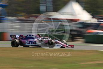 World © Octane Photographic Ltd. Formula 1 – German GP - Practice 1. SportPesa Racing Point RP19 – Lance Stroll. Hockenheimring, Hockenheim, Germany. Friday 26th July 2019.