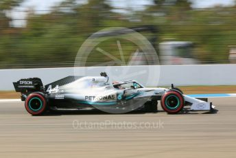 World © Octane Photographic Ltd. Formula 1 – German GP - Practice 2. Mercedes AMG Petronas Motorsport AMG F1 W10 EQ Power+ - Lewis Hamilton. Hockenheimring, Hockenheim, Germany. Friday 26th July 2019.