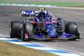 World © Octane Photographic Ltd. Formula 1 – German GP - Practice 2. Scuderia Toro Rosso STR14 – Alexander Albon. Hockenheimring, Hockenheim, Germany. Friday 26th July 2019.