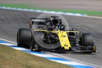 World © Octane Photographic Ltd. Formula 1 – German GP - Practice 2. Renault Sport F1 Team RS19 – Daniel Ricciardo. Hockenheimring, Hockenheim, Germany. Friday 26th July 2019.