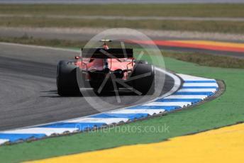 World © Octane Photographic Ltd. Formula 1 – German GP - Practice 2. Scuderia Ferrari SF90 – Charles Leclerc. Hockenheimring, Hockenheim, Germany. Friday 26th July 2019.