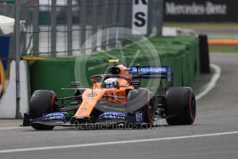World © Octane Photographic Ltd. Formula 1 – German GP - Practice 3. McLaren MCL34 – Lando Norris. Hockenheimring, Hockenheim, Germany. Saturday 27th July 2019.