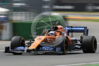 World © Octane Photographic Ltd. Formula 1 – German GP - Practice 3. McLaren MCL34 – Carlos Sainz. Hockenheimring, Hockenheim, Germany. Saturday 27th July 2019.
