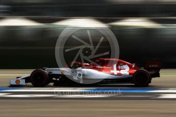 World © Octane Photographic Ltd. Formula 1 – German GP - Practice 3. Alfa Romeo Racing C38 – Kimi Raikkonen. Hockenheimring, Hockenheim, Germany. Saturday 27th July 2019.