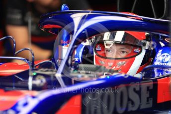 World © Octane Photographic Ltd. Formula 1 – German GP - Practice 3. Scuderia Toro Rosso STR14 – Daniil Kvyat. Hockenheimring, Hockenheim, Germany. Saturday 27th July 2019.