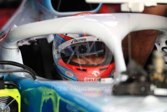 World © Octane Photographic Ltd. Formula 1 – German GP - Practice 3. ROKiT Williams Racing FW 42 – George Russell. Hockenheimring, Hockenheim, Germany. Saturday 27th July 2019.