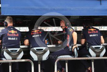 World © Octane Photographic Ltd. Formula 1 - German GP - Practice 3. Christian Horner - Team Principal of Red Bull Racing. Hockenheimring, Hockenheim, Germany. Saturday 27th July 2019.