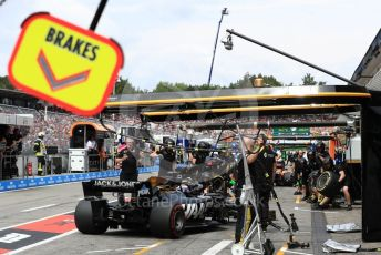 World © Octane Photographic Ltd. Formula 1 – German GP - Practice 3. Rich Energy Haas F1 Team VF19 – Romain Grosjean. Hockenheimring, Hockenheim, Germany. Saturday 27th July 2019.