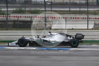 World © Octane Photographic Ltd. Formula 1 – German GP - Race. Mercedes AMG Petronas Motorsport AMG F1 W10 EQ Power+ - Lewis Hamilton. Hockenheimring, Hockenheim, Germany. Sunday 28th July 2019.
