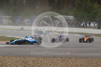 World © Octane Photographic Ltd. Formula 1 – German GP - Race. ROKiT Williams Racing FW 42 – George Russell. Hockenheimring, Hockenheim, Germany. Sunday 28th July 2019.