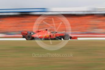 World © Octane Photographic Ltd. Formula 1 – German GP - Race. Scuderia Ferrari SF90 – Sebastian Vettel. Hockenheimring, Hockenheim, Germany. Sunday 28th July 2019.