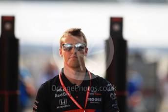 World © Octane Photographic Ltd. Formula 1 – German GP - Paddock. Scuderia Toro Rosso STR14 – Daniil Kvyat. Hockenheimring, Hockenheim, Germany. Friday 26th July 2019.