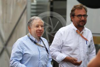 World © Octane Photographic Ltd. Formula 1 - German GP - Paddock. Jean Todt – President of FIA. Hockenheimring, Hockenheim, Germany. Sunday 28th July 2019.