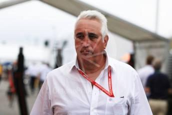 World © Octane Photographic Ltd. Formula 1 - German GP - Paddock. Lance Stroll father Lawrence Stroll - investor, part-owner of SportPesa Racing Point. Hockenheimring, Hockenheim, Germany. Sunday 28th July 2019.