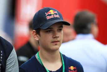 World © Octane Photographic Ltd. Formula 1 – German GP - Paddock. Red Bull Racing young driver Jonny Edgar. Hockenheimring, Hockenheim, Germany. Sunday 28th July 2019.