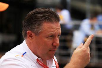 World © Octane Photographic Ltd. Formula 1 - German GP - Paddock. Zak Brown - Executive Director of McLaren Technology Group. Hockenheimring, Hockenheim, Germany. Sunday 28th July 2019.