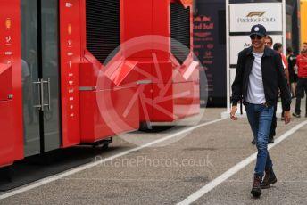 World © Octane Photographic Ltd. Formula 1 – German GP - Paddock. Mercedes AMG Petronas Motorsport AMG F1 W10 EQ Power+ Reserve Driver - Esteban Ocon. Hockenheimring, Hockenheim, Germany. Sunday 28th July 2019.