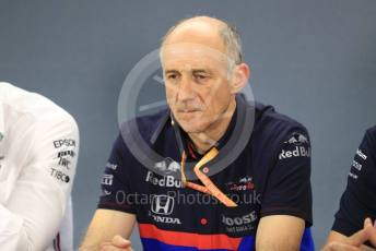 World © Octane Photographic Ltd. Formula 1 - German GP – Friday FIA Team Press Conference. Franz Tost – Team Principal of Scuderia Toro Rosso. Hockenheimring, Hockenheim, Germany. Friday 26th July 2019.