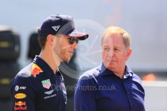 World © Octane Photographic Ltd. Formula 1 – German GP - Paddock. Aston Martin Red Bull Racing RB15 – Pierre Gasly. Hockenheimring, Hockenheim, Germany. Thursday 25th July 2019.