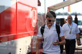 World © Octane Photographic Ltd. Formula 1 – German GP - Paddock. McLaren MCL34 – Lando Norris. Hockenheimring, Hockenheim, Germany. Thursday 25th July 2019.