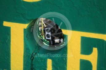 World © Octane Photographic Ltd. Formula 1 – Hungarian GP - Setup. Timing beam sensors, Budapest, Hungary. Thursday 1st August 2019.
