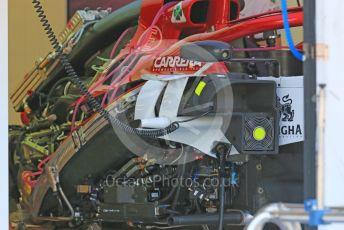 World © Octane Photographic Ltd. Formula 1 – Hungarian GP - Pitlane. Alfa Romeo Racing C38. Hungaroring, Budapest, Hungary. Thursday 1st August 2019.