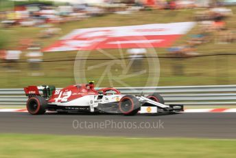 World © Octane Photographic Ltd. Formula 1 – Hungarian GP - Practice 1. Alfa Romeo Racing C38 – Antonio Giovinazzi. Hungaroring, Budapest, Hungary. Friday 2nd August 2019.