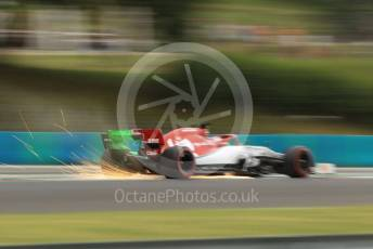 World © Octane Photographic Ltd. Formula 1 – Hungarian GP - Practice 1. Alfa Romeo Racing C38 – Kimi Raikkonen. Hungaroring, Budapest, Hungary. Friday 2nd August 2019.