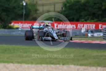 World © Octane Photographic Ltd. Formula 1 – Hungarian GP - Practice 1. Mercedes AMG Petronas Motorsport AMG F1 W10 EQ Power+ - Valtteri Bottas. Hungaroring, Budapest, Hungary. Friday 2nd August 2019.